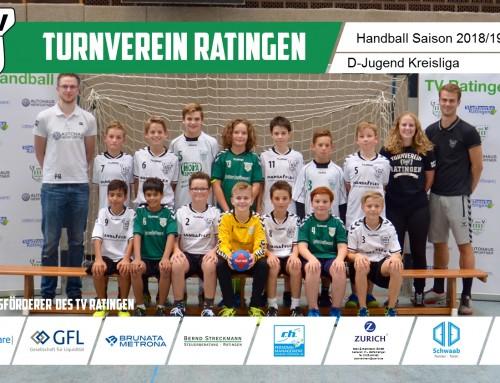 D1 holt ein Unentschieden im Spitzenspiel bei HSG Neuss/Düsseldorf