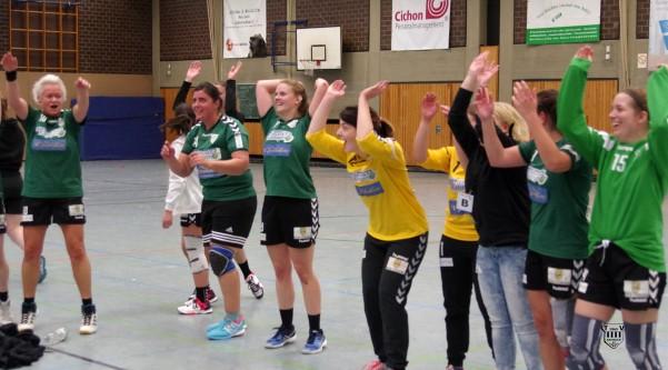 Die 2. Damen des TV siegen bei der TG 81 Düsseldorf 15:13