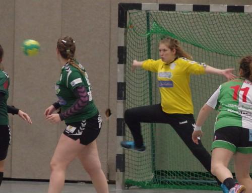 Bilder vom Spiel der ersten Damenmannschaft gegen HSG Adler Haan II