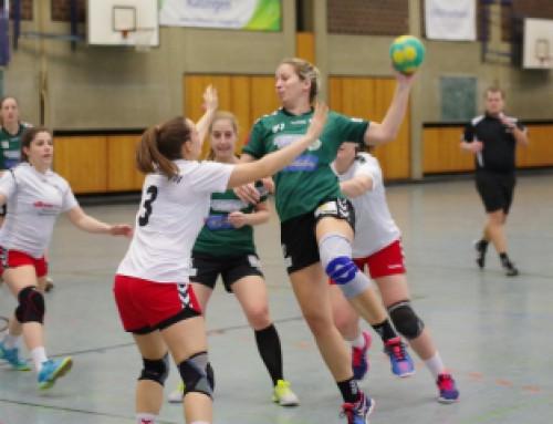 Heimsieg der 2. Damen gegen HSG Gerresheim 22:18 (8:5)