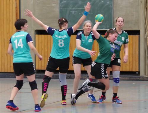 HSG Gerresheim1. F gegen TV Ratingen 2. Damen 16:18 (10:9)