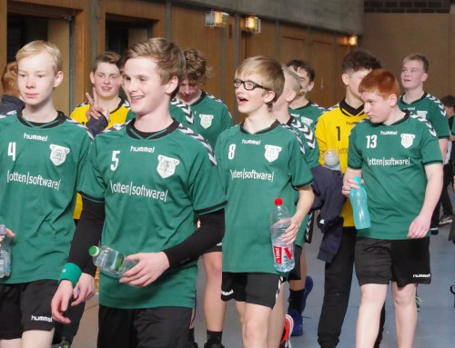 C1-Jugend siegt 18:8 im Spitzenspiel gegen Norf