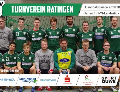 Nächster Coup der Zwoten: 32:27-Sieg gegen den Tabellenzweiten aus Mülheim