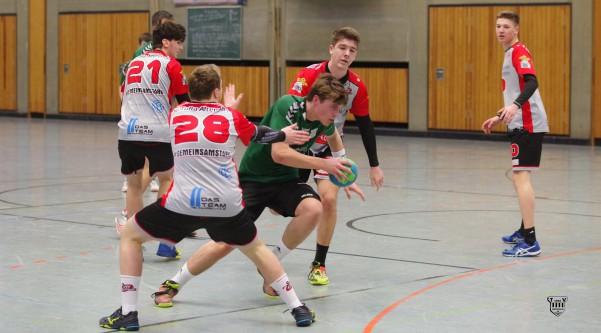 TV Ratingen mA 2 spielt eine gute erste Halbzeit gegen Tura Altendorf