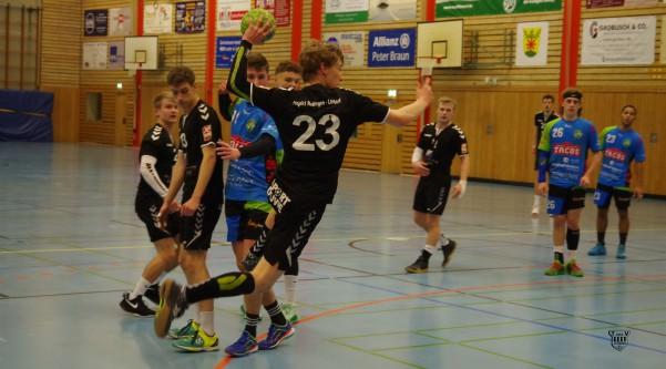 Silas Müskens liefert ein grandioses Spiel für die A1-Jugend in Burscheid und trifft insgesamt 14 Mal