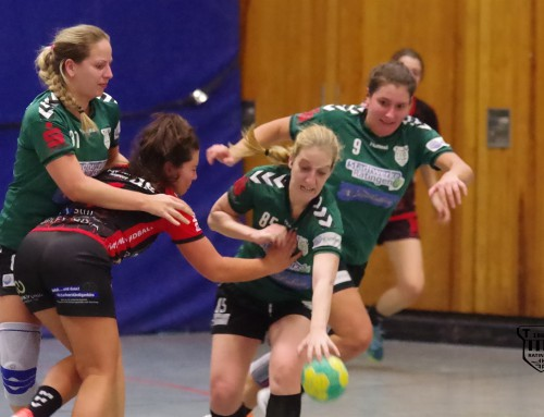 Die zweiten Damen des TVR gewinnen bei HSG Jahn/West